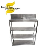 Steel 4 tier shelf