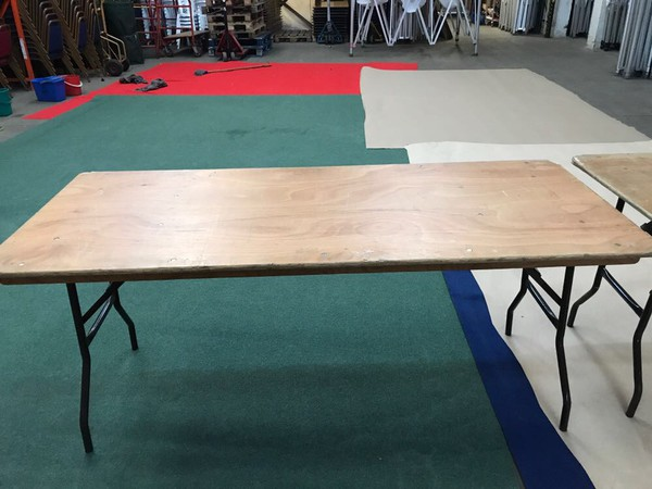 Second Hand 6ft Trestle Table