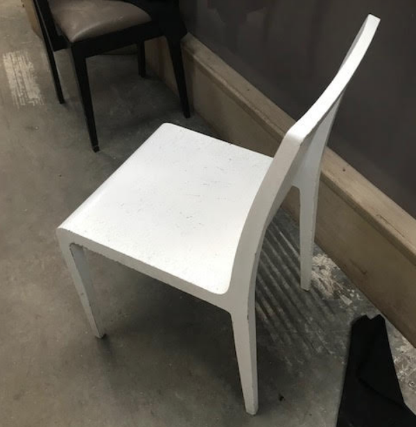 White wooden chairs for sale