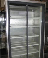 Glass display chiller