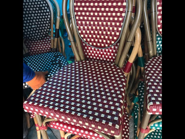 30x Outdoor Cafe / Bistro Chairs