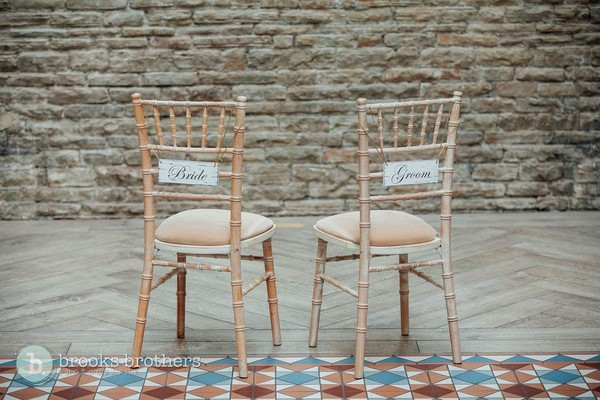 Secondhand lime wash chairs