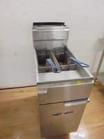 Used gas commercial fryer for sale