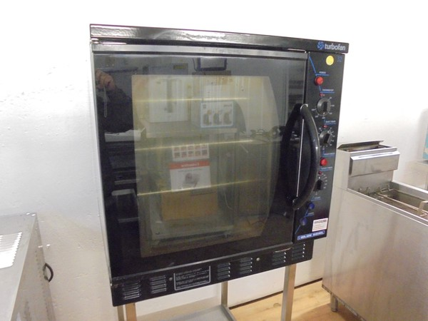 Used blue seal natural gas oven