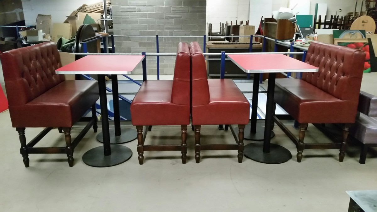 High Booth Seating For Sale New Sets