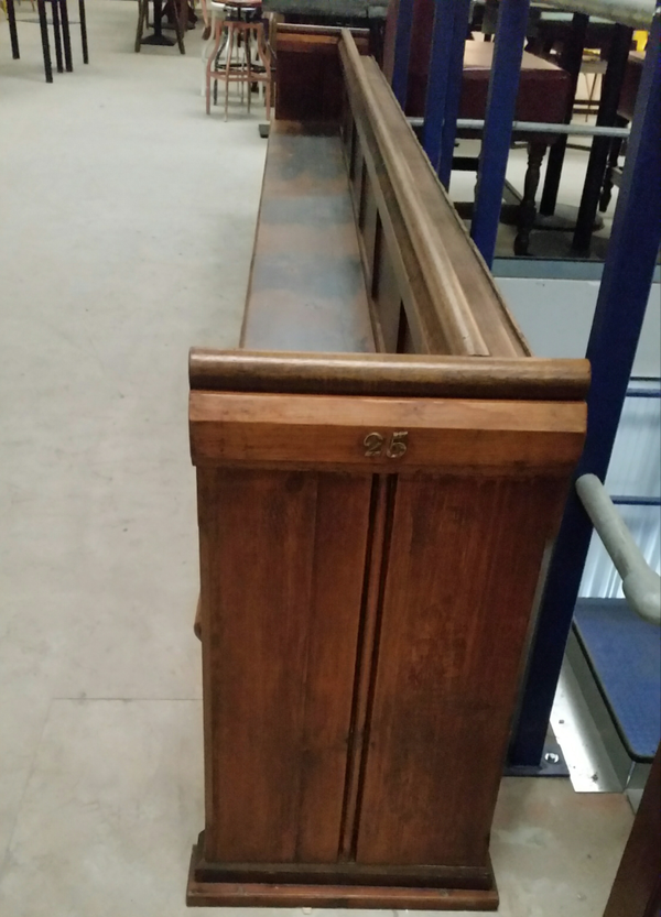 Traditional, Original Oak Pew