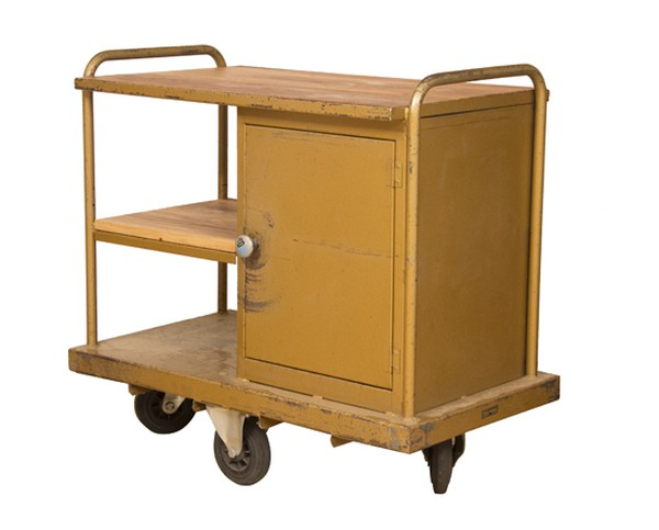 Vintage Industrial Mechanics Trolley