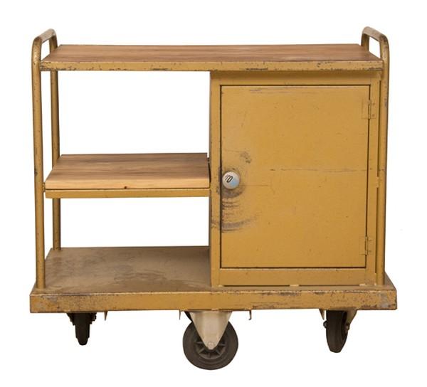 Vintage Industrial Mechanics Trolley