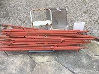 Metal frame for 4 market stalls