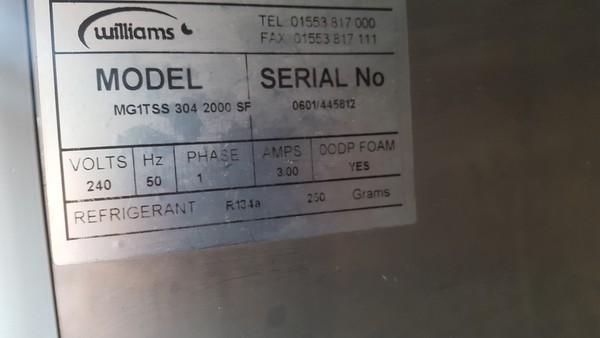 Used williams fridge