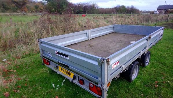 Dropside trailer