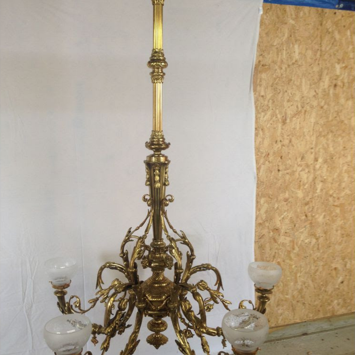 Curlew secondhand marquees chandeliers large antique ormolu large antique chandelier aloadofball Gallery