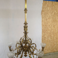 Large antique chandelier