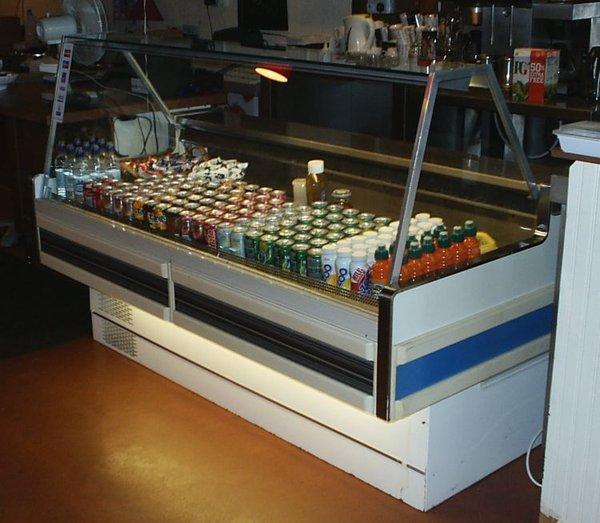 Secondhand Hussman Sandwich Serve Over Fridge for sale