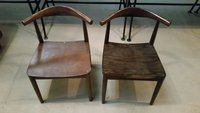 Cow horn chairs