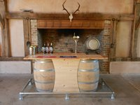 Barrel bar unit for sale