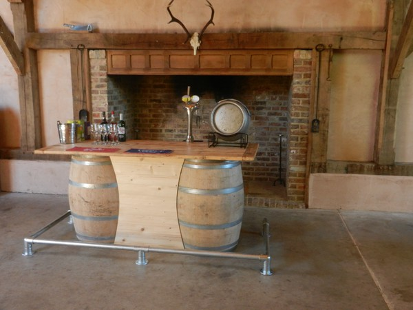 Barrel bar unit