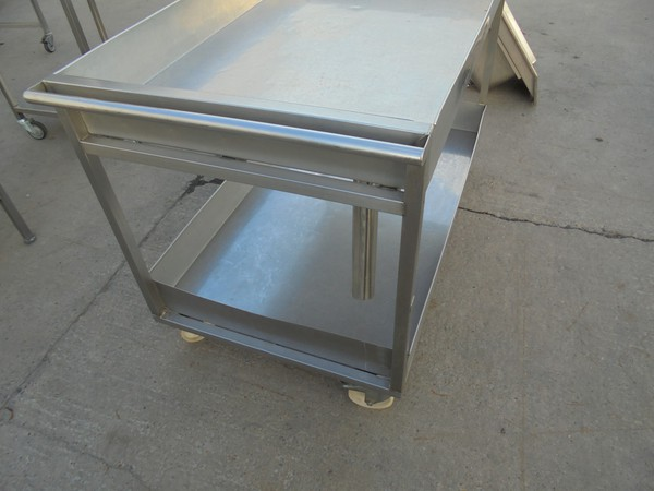 Stainless steel wet table