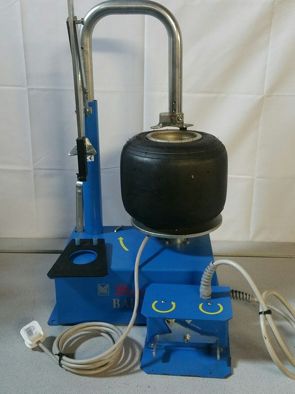 Kart Tyre Changer Semel Baby E. For Mounting Tyres