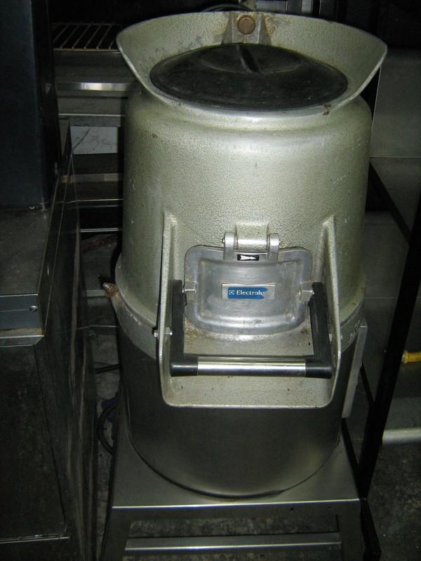 Electrolux Potato Peeler On Stand