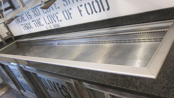 Large fridge display