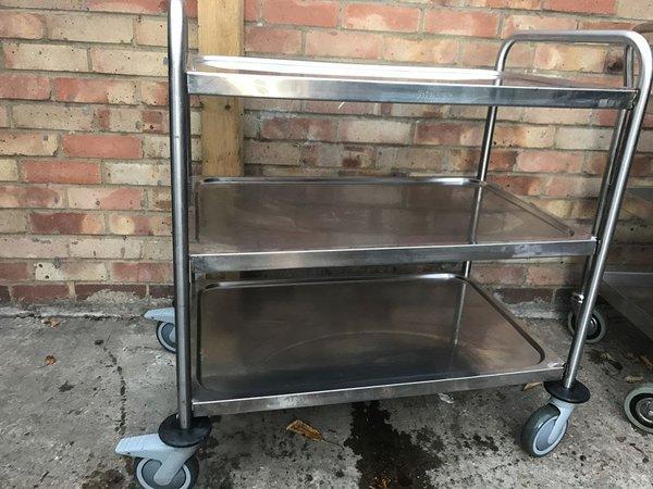 steel trolley for sale