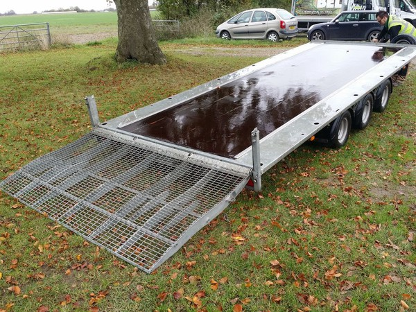 Used ifor trailer