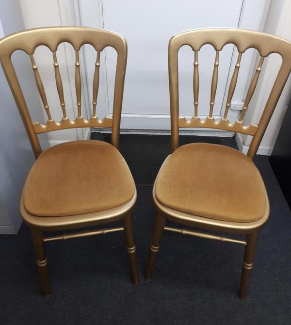 Used Cheltenham banqueting chairs