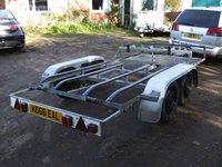 Twin Axle Twin Jet Ski Transporter Road Trailer