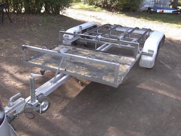 Twin Axle Twin Jet Ski Transporter Road Trailer