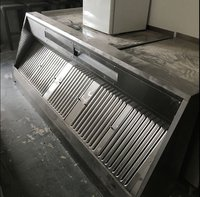 Used Commercial Kitchen Extraction Canopy
