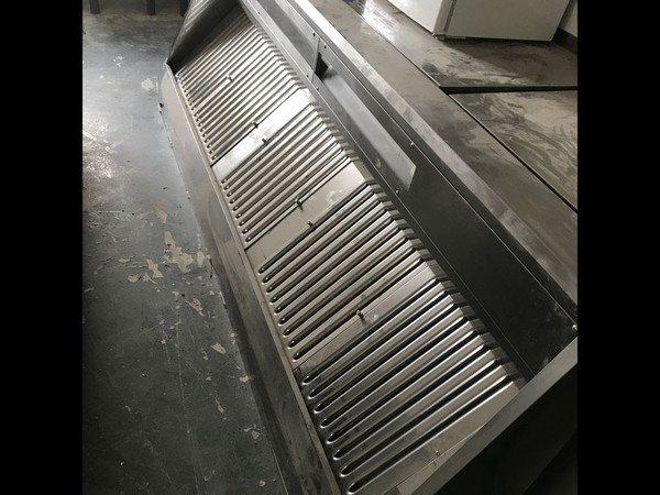 Second Hand Commercial Kitchen Extraction Canopy