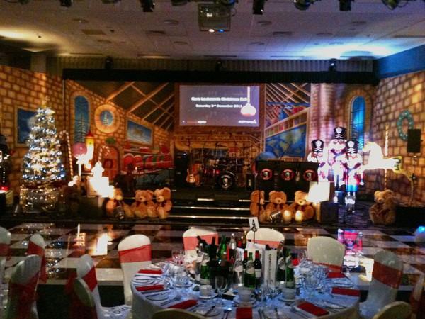 Santa's Workshop Scenery