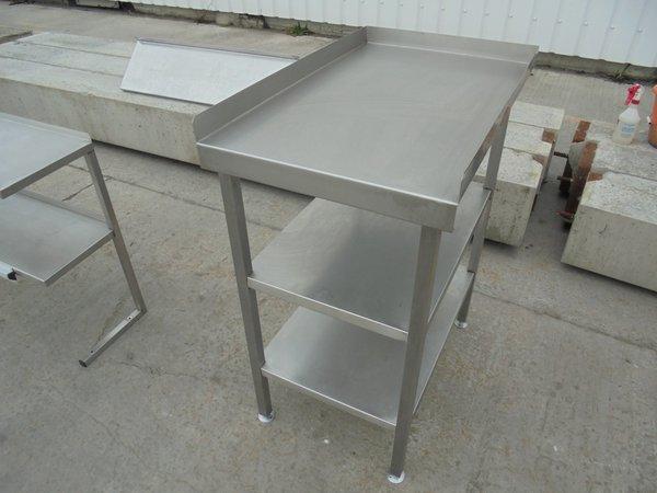 Used stainless steel table (5851) - Bridgwater, Somerset