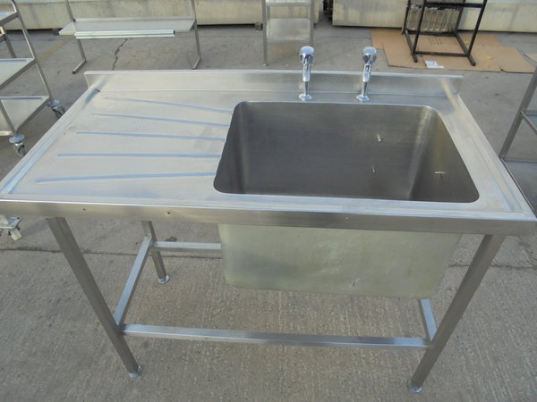 Used Stainless Steel Sink for sale