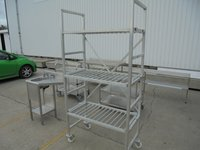 Used Aluminium 3 Tier Rack (5848)