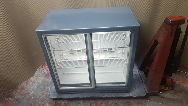 Rhino Double Door Drinks / Bottle Fridge