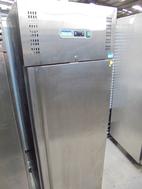 Used Polar G593 Stainless Steel Upright Freezer (5868)