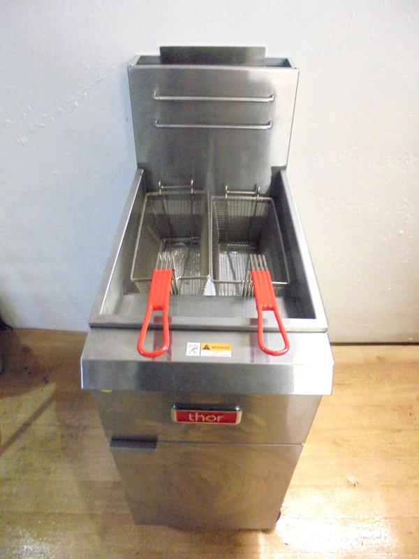 Duel Gas Fryer