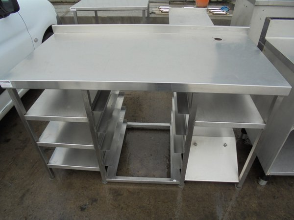 Used Stainless Steel Table (5878)