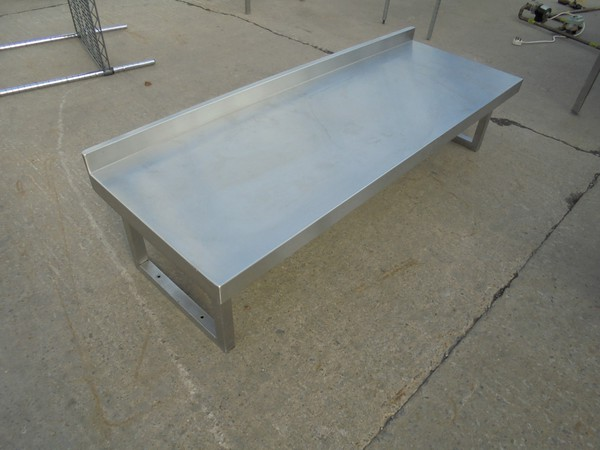 Secondhand stainless steel gantry shelf for sale