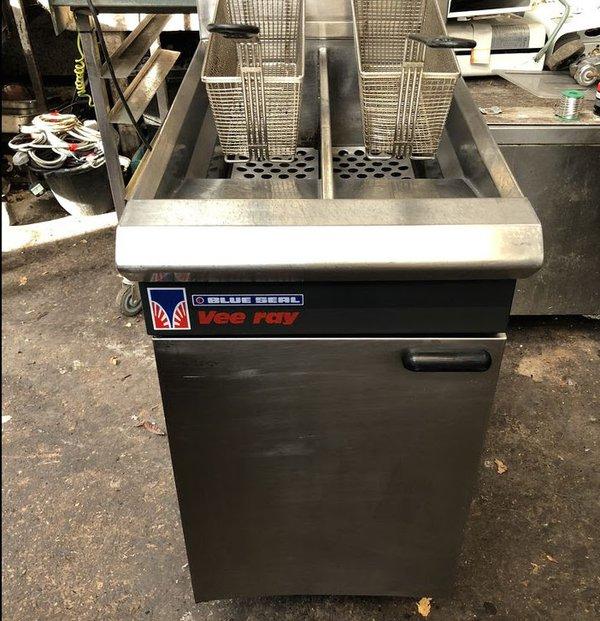 Blue Seal Double Gas Fryer