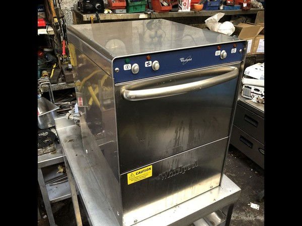 Used Whirlpool Compact Undercounter Glasswasher