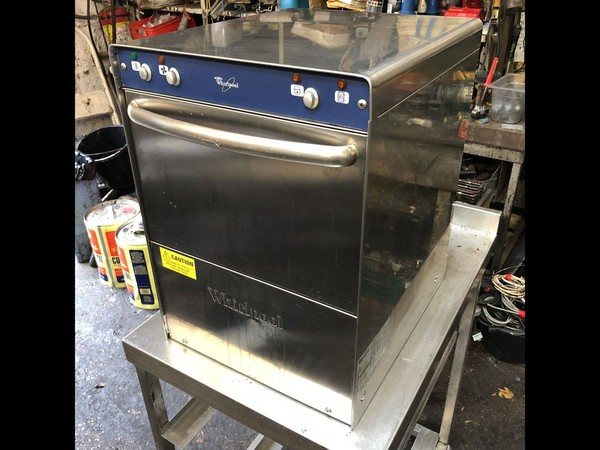 Whirlpool Compact Undercounter Glasswasher  for sale