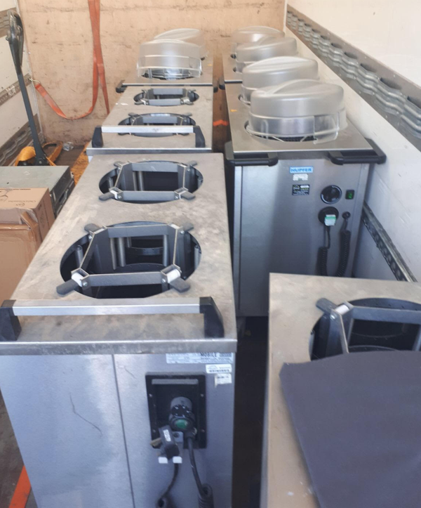 Used plate warmers