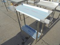 Grad B New Stainless steel shelf.