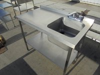 Parry stainless steel sink