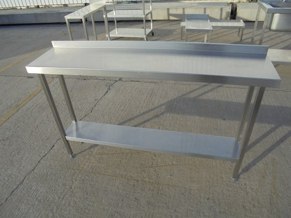 1.5m Stainless steel table