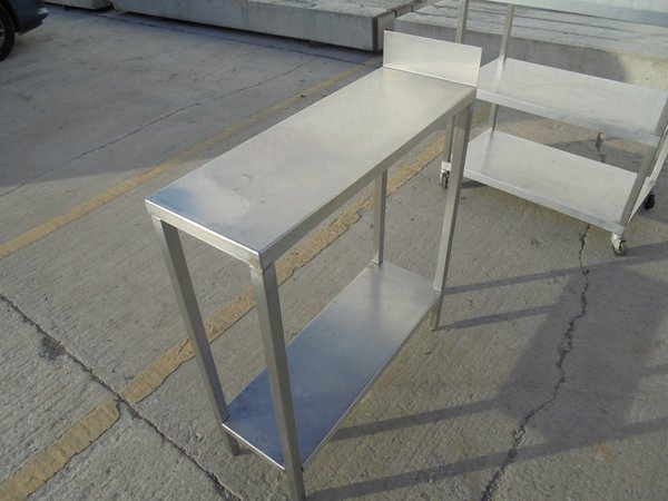28cm infill stainless steel table