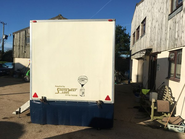 Luxury restroom trailer for sale
